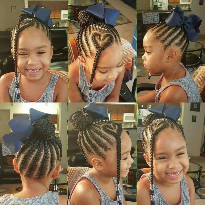fresh braided hairstyles for little girls