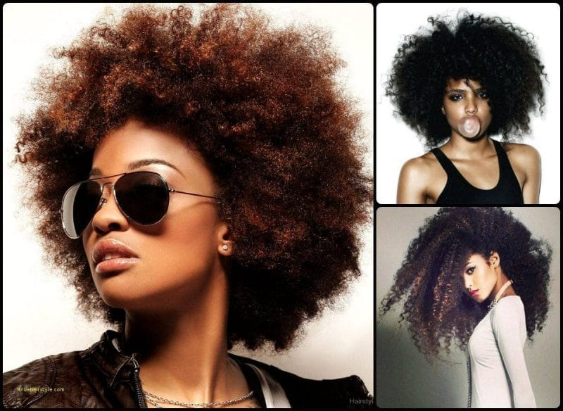 new beautiful afro styles for black women