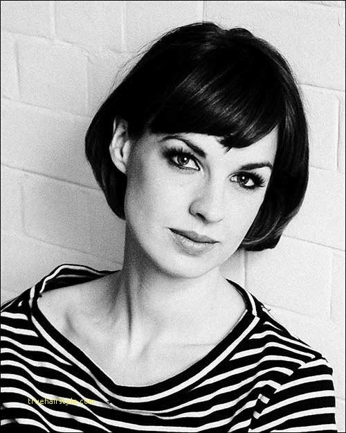 beautiful charming french bob haircut