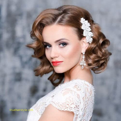 best of simple wedding hairstyle for medium length hair