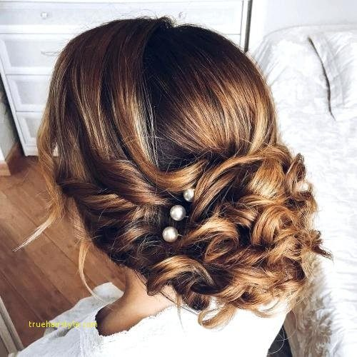 new simple wedding hairstyle for medium length hair 1