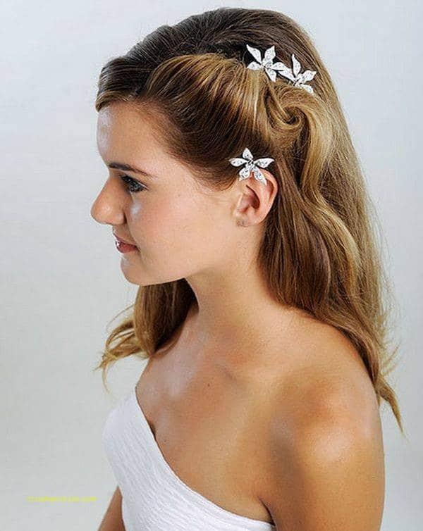 Simple Wedding Hairstyle For Medium Length Hair Truehairstyle