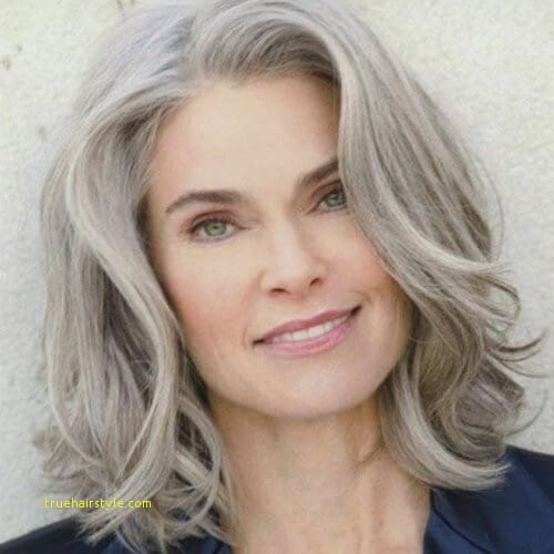 unique awesome mid length hairstyles for 60 year old woman 1