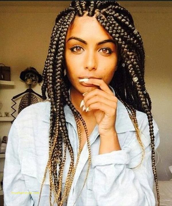 unique simple newest jumbo box braids 2