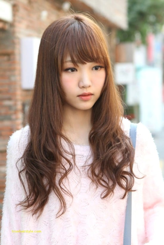 awesome elegant cute korean girl with beauty longhair today