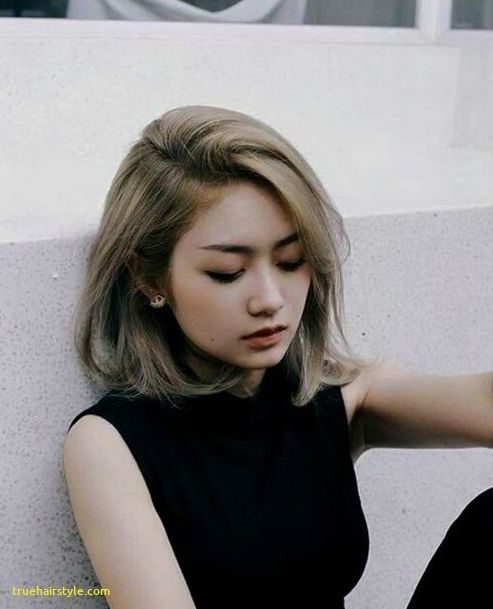 beautiful unique korean short haircut for girls