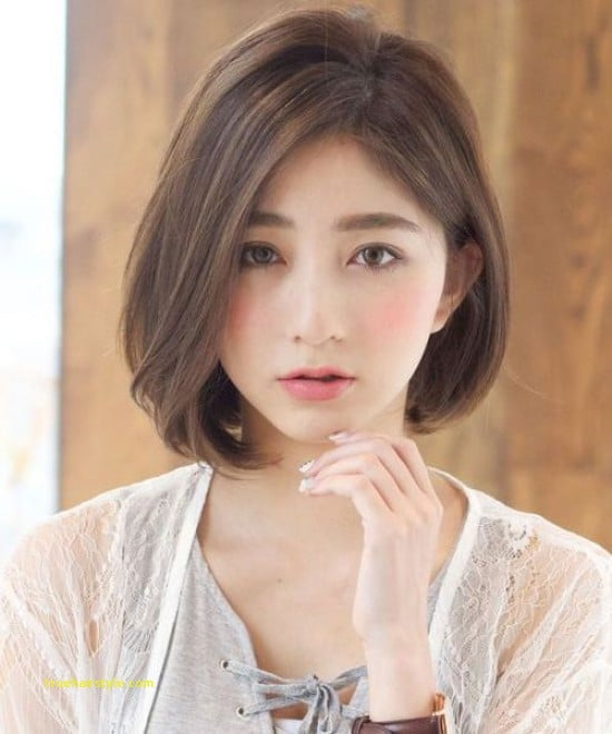 elegant unique korean short haircut for girls 1