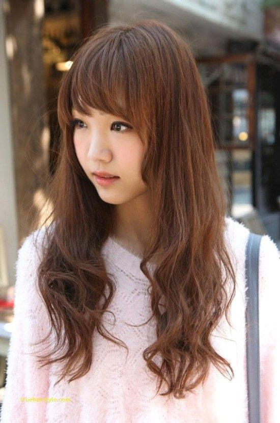 inspirational elegant cute korean girl with beauty longhair of all time