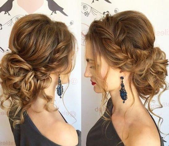 luxury glamorous updo elegant hairstyle 2