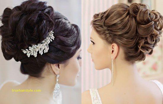 luxury glamorous updo elegant hairstyle