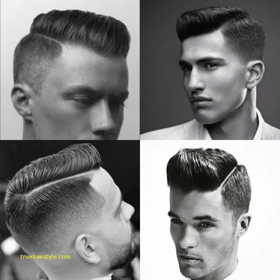 beautiful unique modern comb over haircut in this year