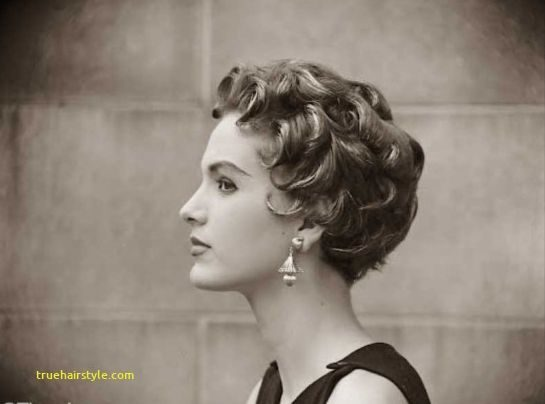 fresh 1950s hairstyles for short hair in this year