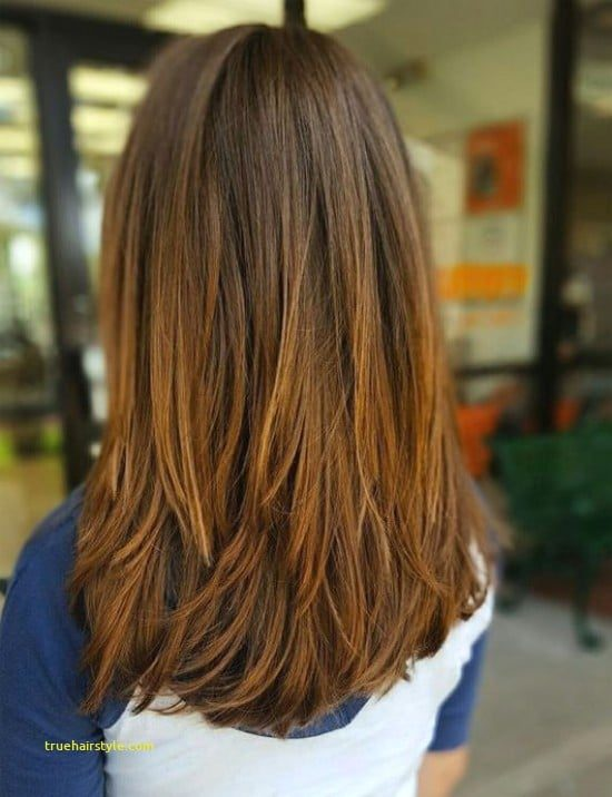 lovely elegant medium haircut for girls in this year