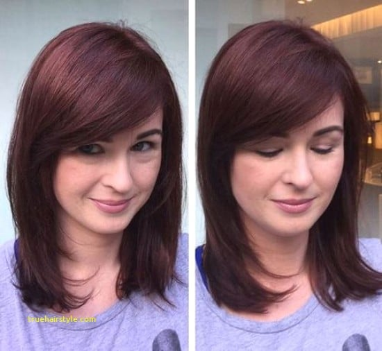 Fresh Medium Length Haircuts with Bangs - Hairstyle Collection