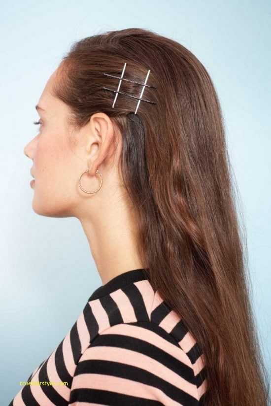 fresh bobby pin hairstyle of all time