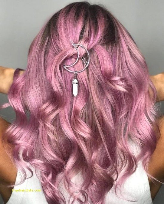 beautiful unique pink hairstyle ideas in this year