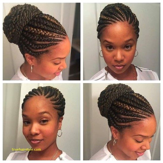 elegant unique braided straight up hairstyles in this year