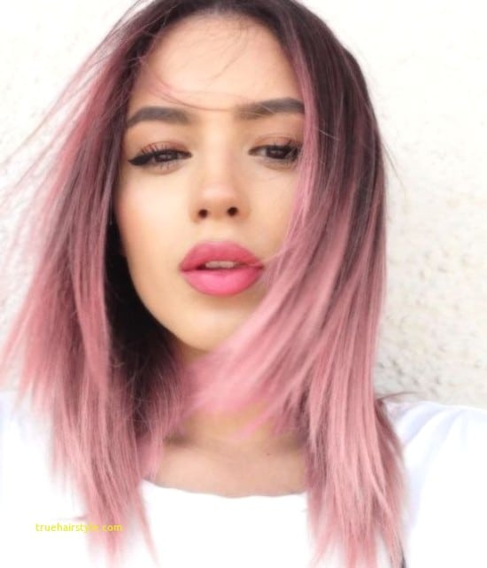 elegant unique pink hairstyle ideas today