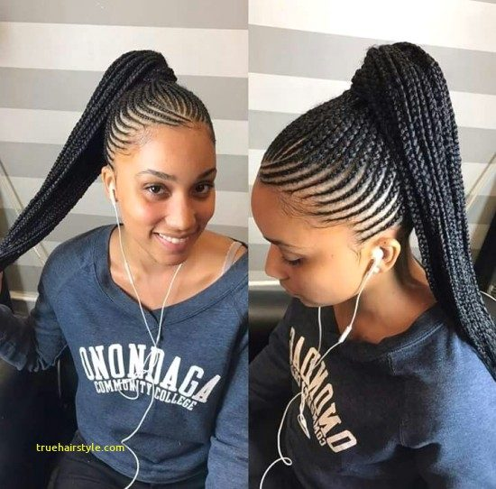 lovely unique braided straight up hairstyles today
