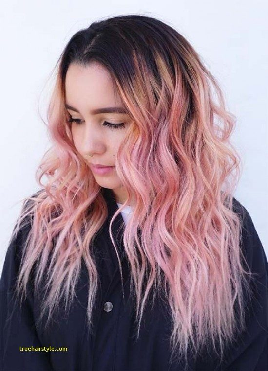 new unique pink hairstyle ideas in this year