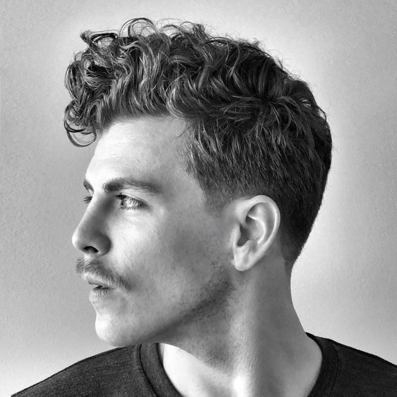 Best Hairstyle For Curly Hair Male Truehairstyle