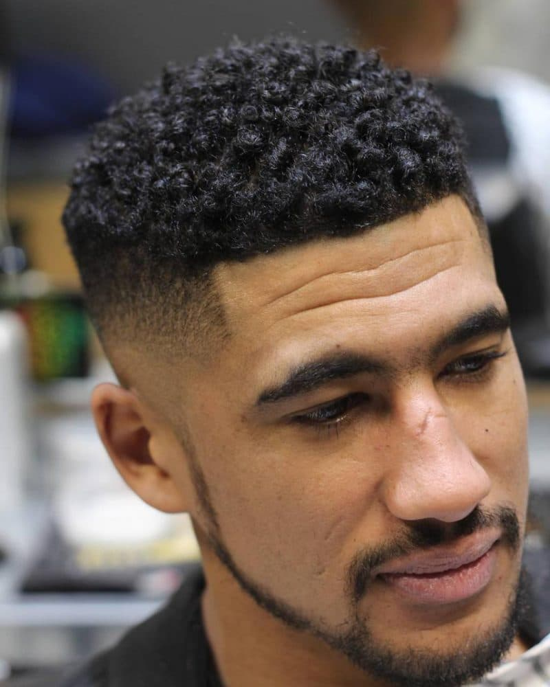 Best Hairstyle for Curly Hair Male - TrueHairstyle