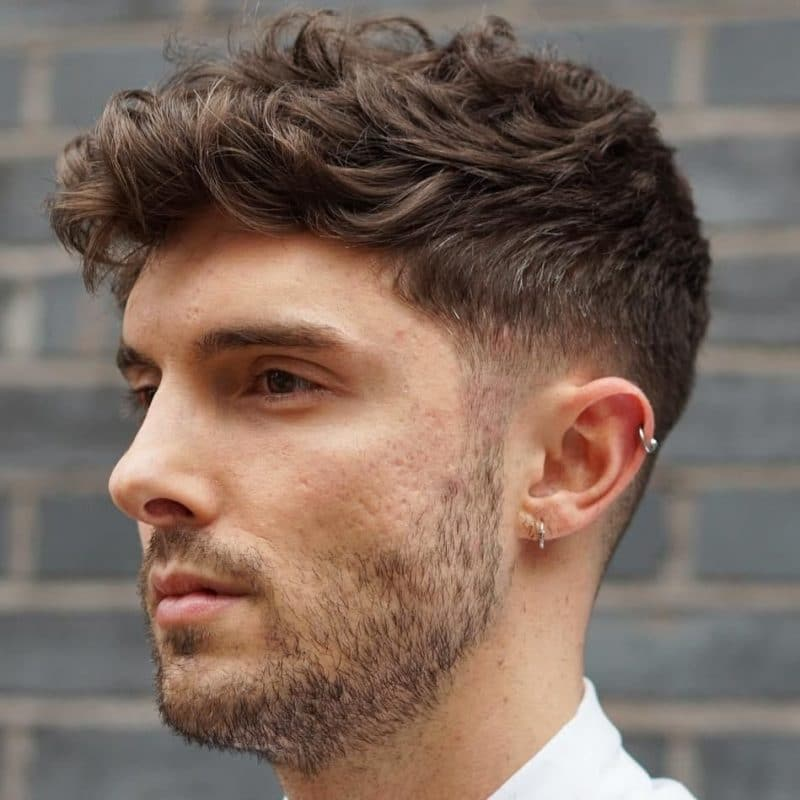 Best Hairstyle for Wavy Hair Male - Hairstyle Collection