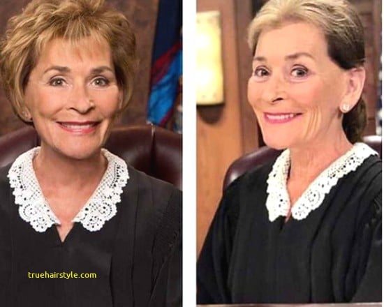 elegant judge judy hairstyle of all time