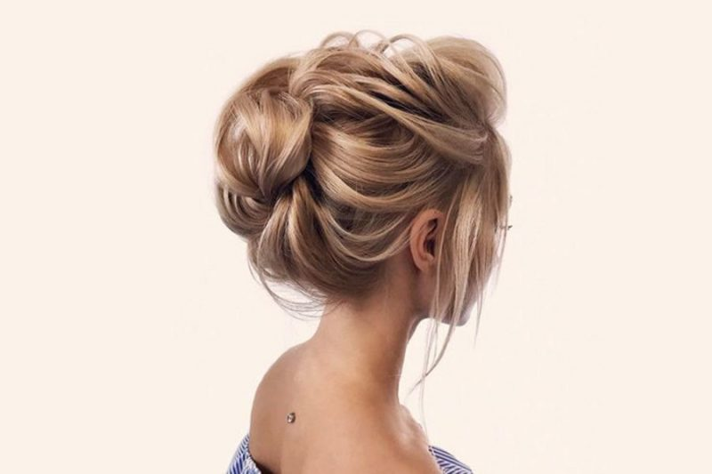 New Modern Updos for Medium Length Hair